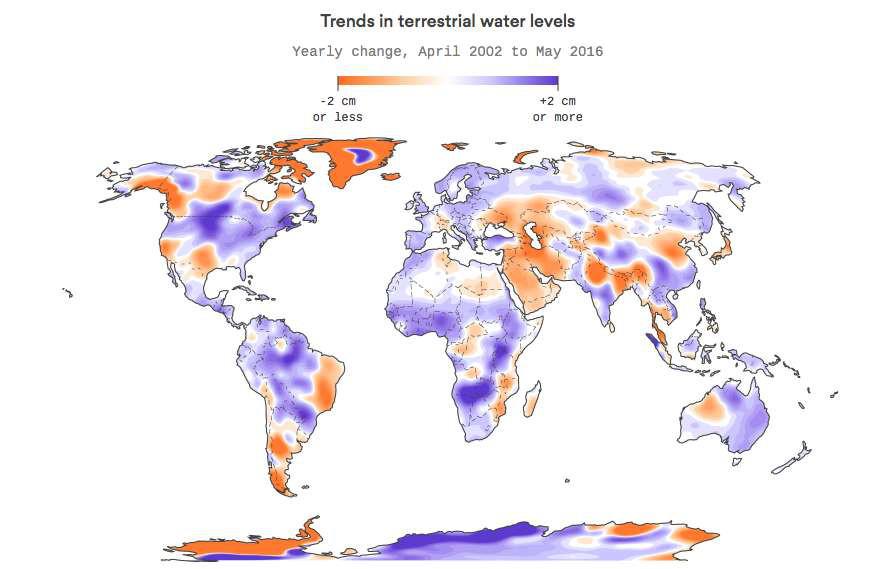L'eau douce de plus en plus mal répartie sur Terre