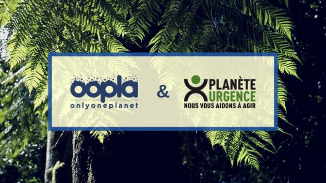 OOPLA et Planète Urgence : un partenariat en faveur de la reforestation